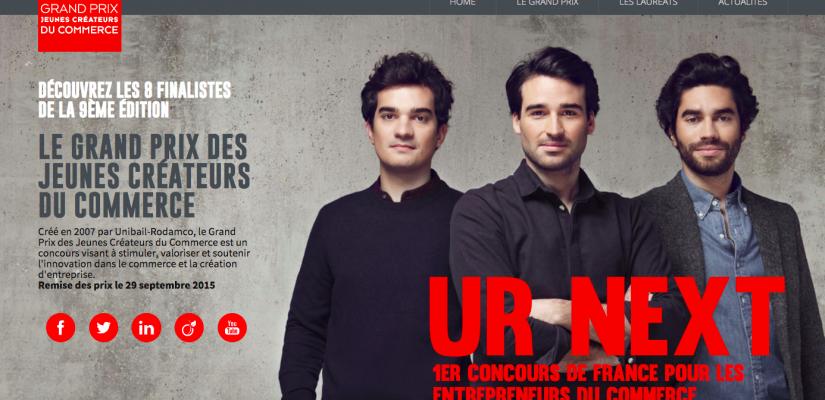 Remise des prix des Jeunes Créateurs du Commerce by Unibail
