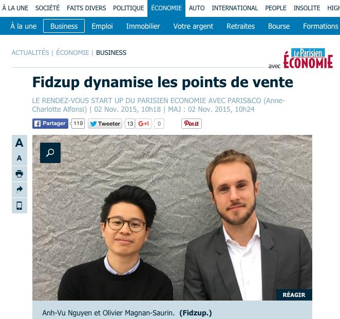 Article Fidzup