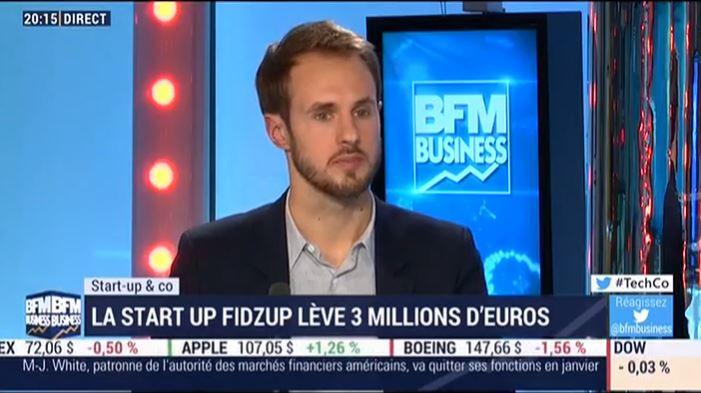 FIDZUP LEVE 3 MILLIONS D'EUROS