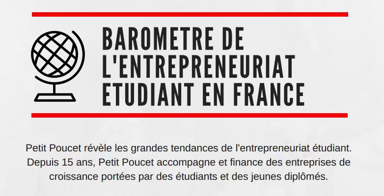 Baromètre de l'entrepreneuriat étudiant en France