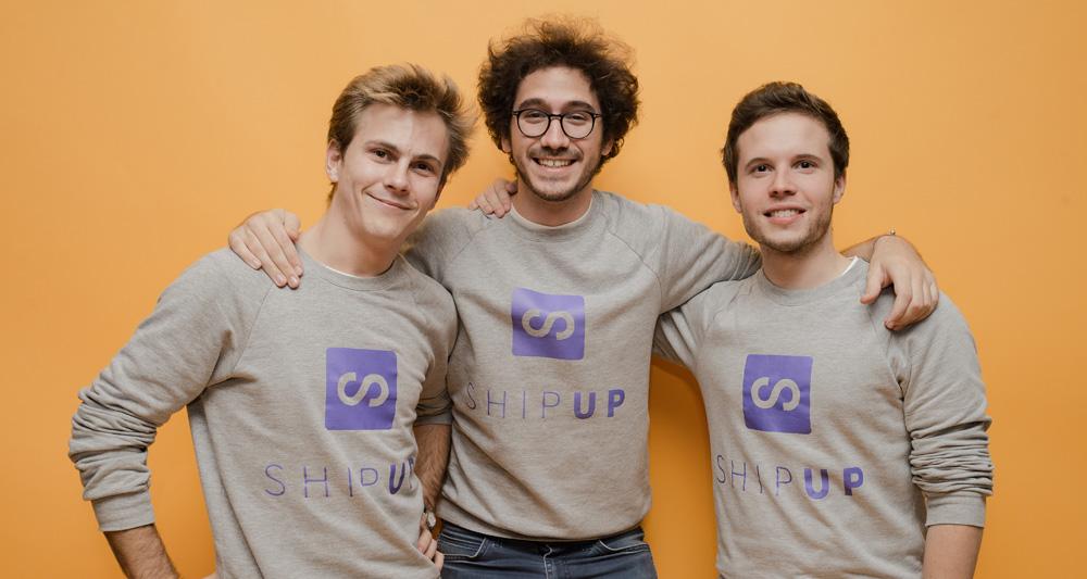 3 fondateurs ShipUp©shehanhanwellage.com