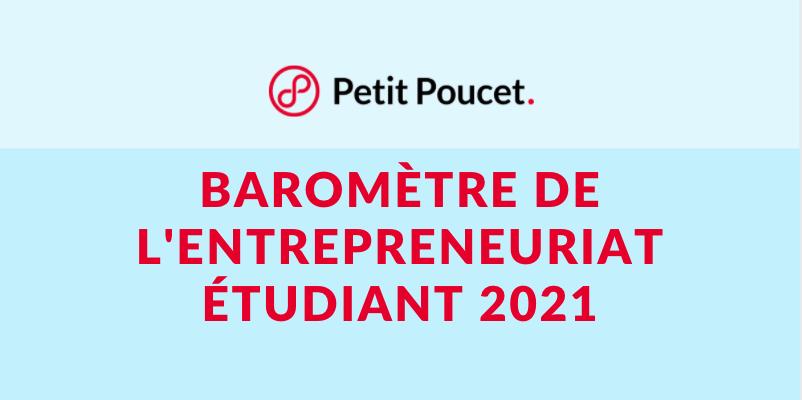 Baromètre de l'entrepreneuriat étudiant 2021
